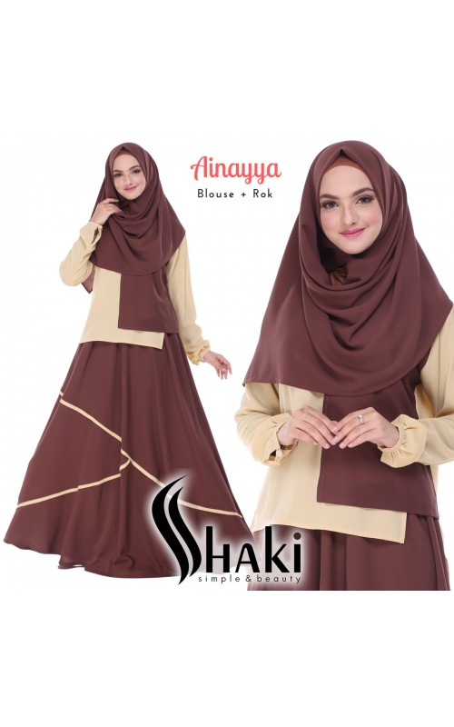 Ainayya by Shaki ( Blouse + Rok )